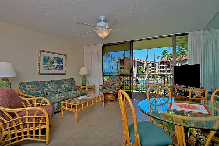 E205 Ocean View Condo Ocean Front Papakea Resort