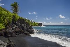 Black Sand Beach - Maui